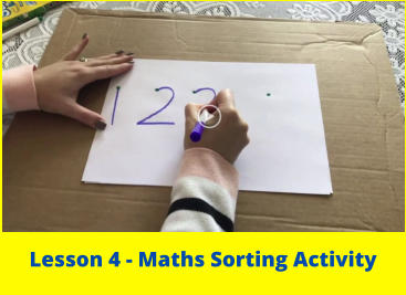 Lesson 4 - Maths Sorting Activity