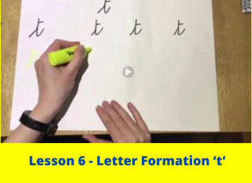 Lesson 6 - Letter Formation 't'