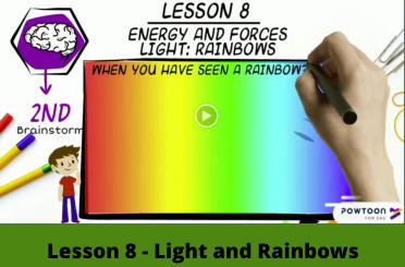 Lesson 8 - Light and Rainbows