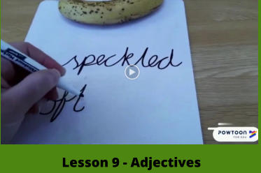 Lesson 9 - Adjectives
