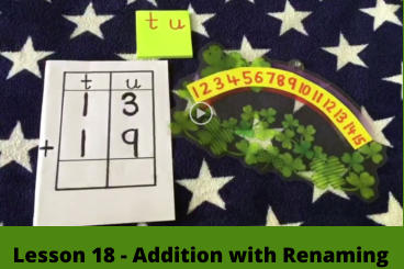 Lesson 18 - Addition with Renaming