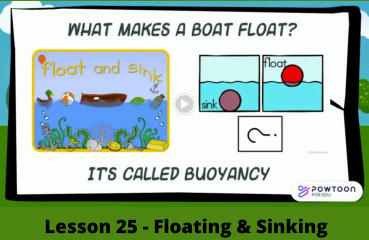 Lesson 25 - Floating & Sinking
